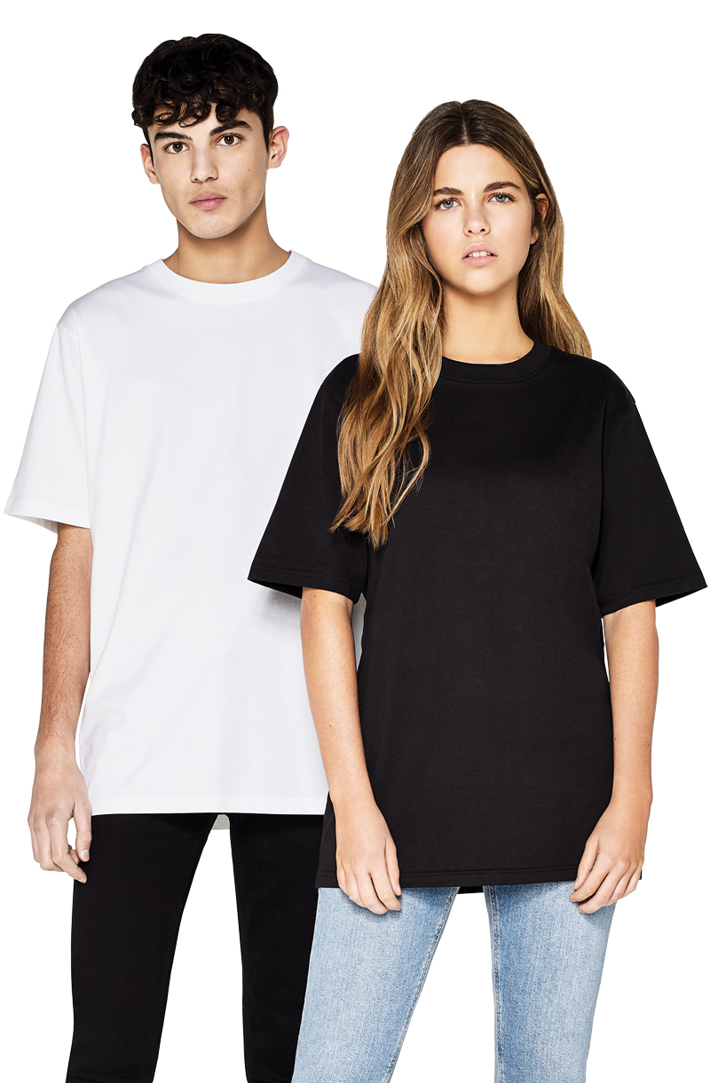 EP19 UNISEX 100% Combed Organic Cotton